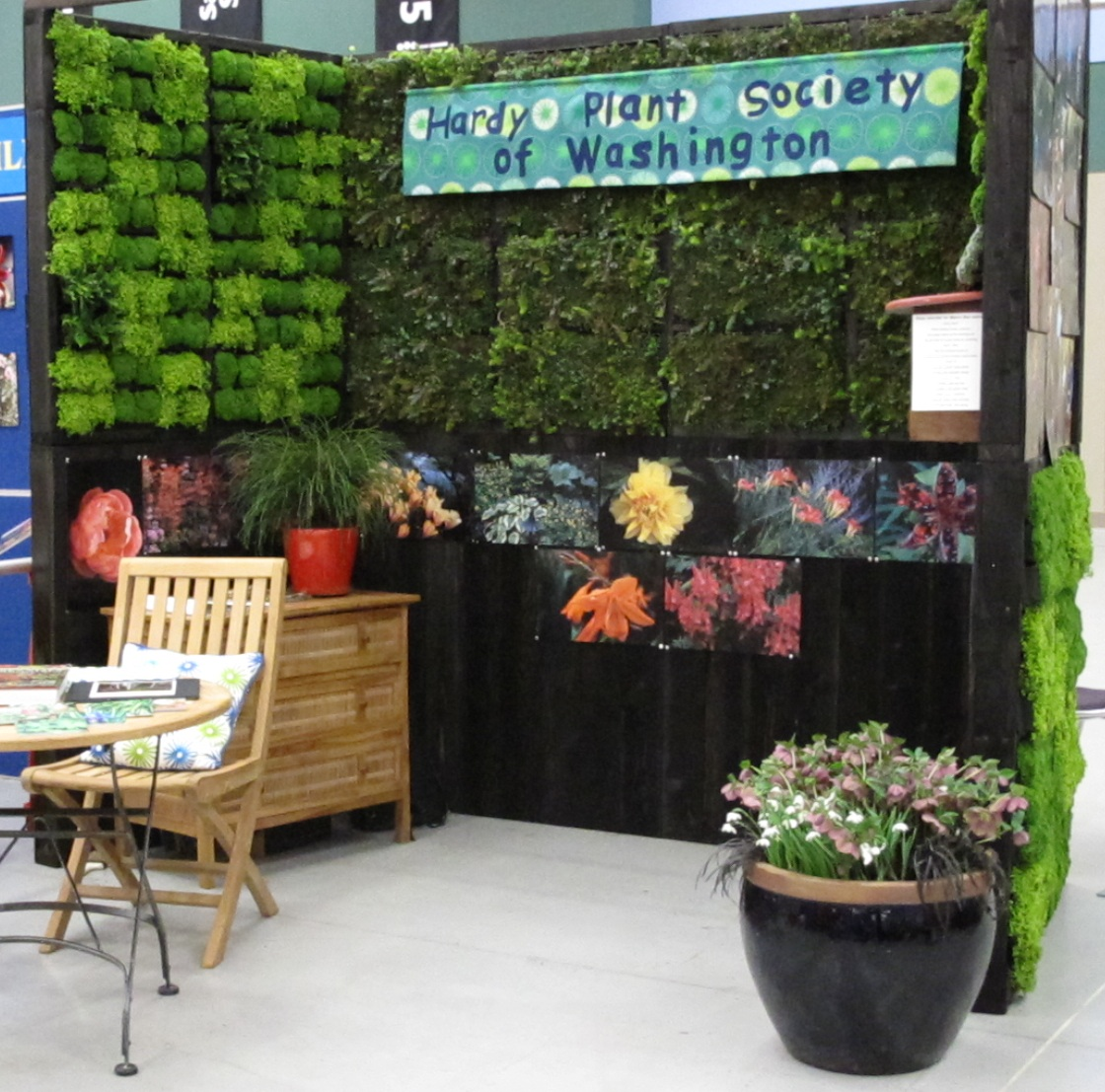 Overall image of booth