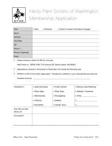 Membership Application 2013
